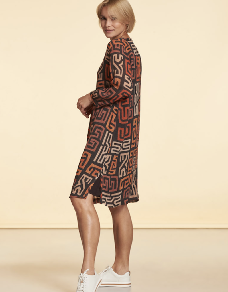 Nile Chiffon Print Dress