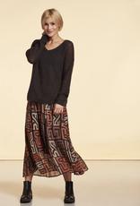 Nile Long Chiffon Skirt