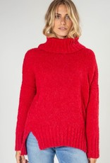 Zaket and Plover Chunky Roll Neck Sweater