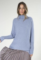Zaket and Plover Batwing Roll Neck Sweater