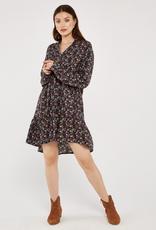 Apricot Folk Ditsy Print Dress