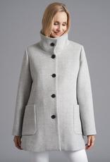 Junge Plaid Wool Coat