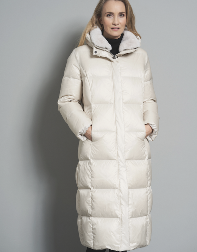 Junge Long Quilted Down Coat