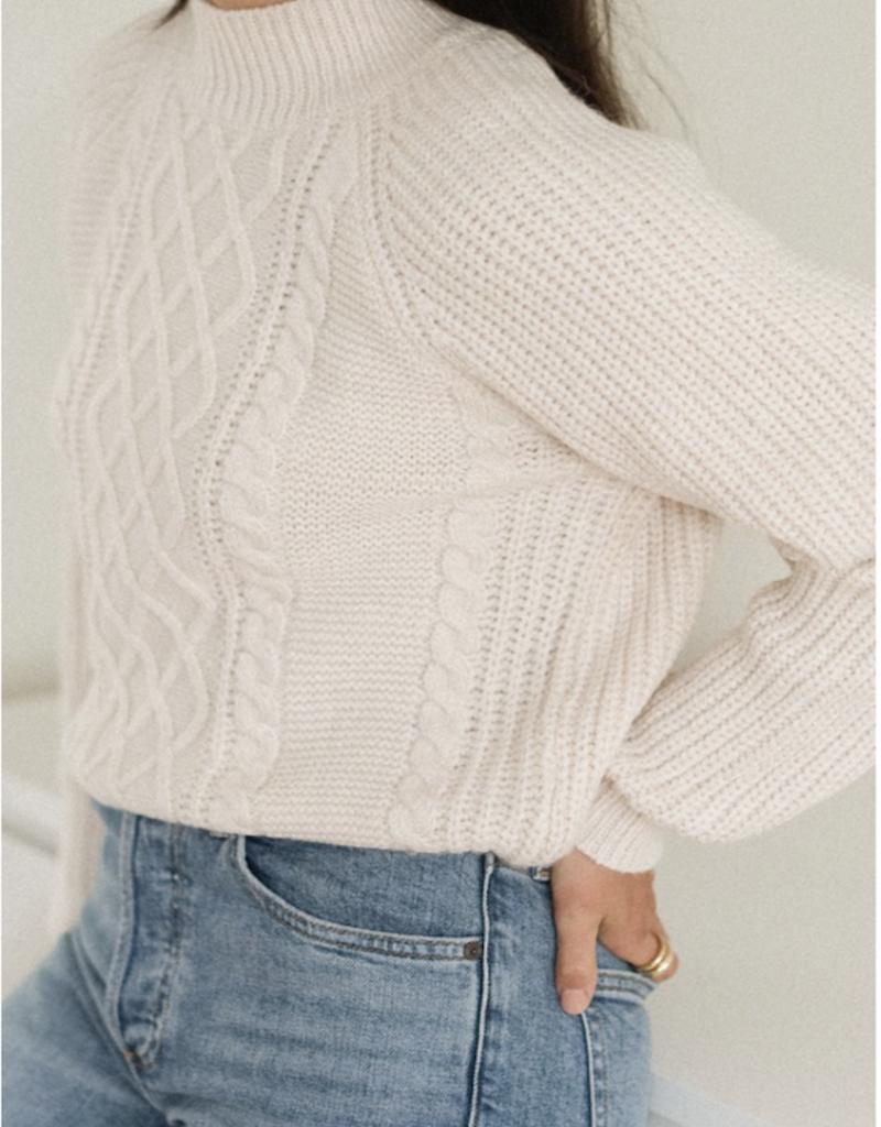Gentle Fawn Preston Cable Sweater