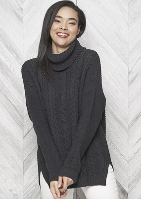 Emily Eco Cotton Turtleneck