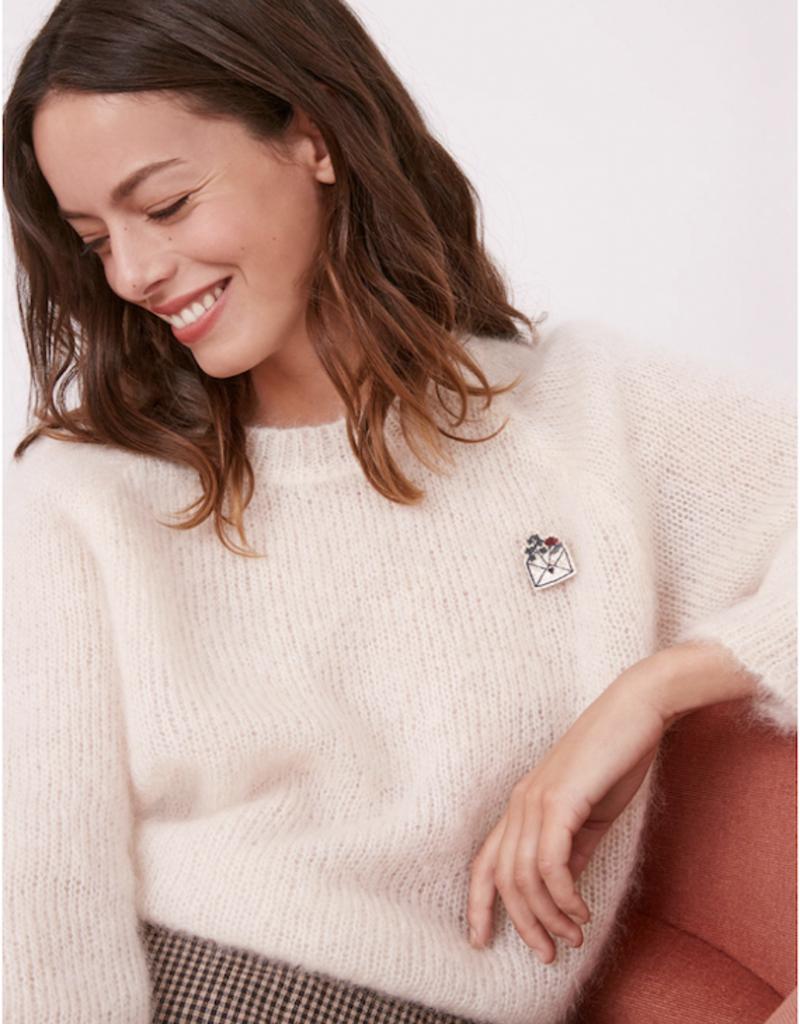 Des Petits Hauts CONNIE Crop Sweater