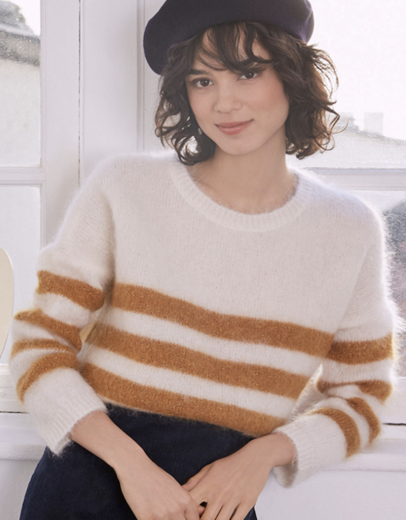 Des Petits Hauts DOMIS Striped Sweater