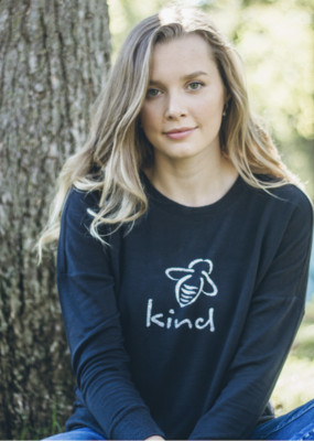 "Bee Attitudes ""Bee Kind""  Sweatshirt"