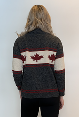 Canadiana Eco Cotton High Neck Sweater