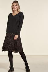 Nile Chiffon Print Skirt