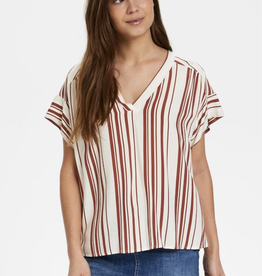 Part Two Drine Striped Blouse