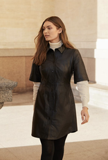 Part Two Edyta Leather Dress