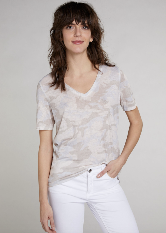 Oui V Neck T Shirt