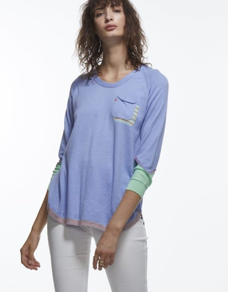 Zaket and Plover Pocket Detail Sweater