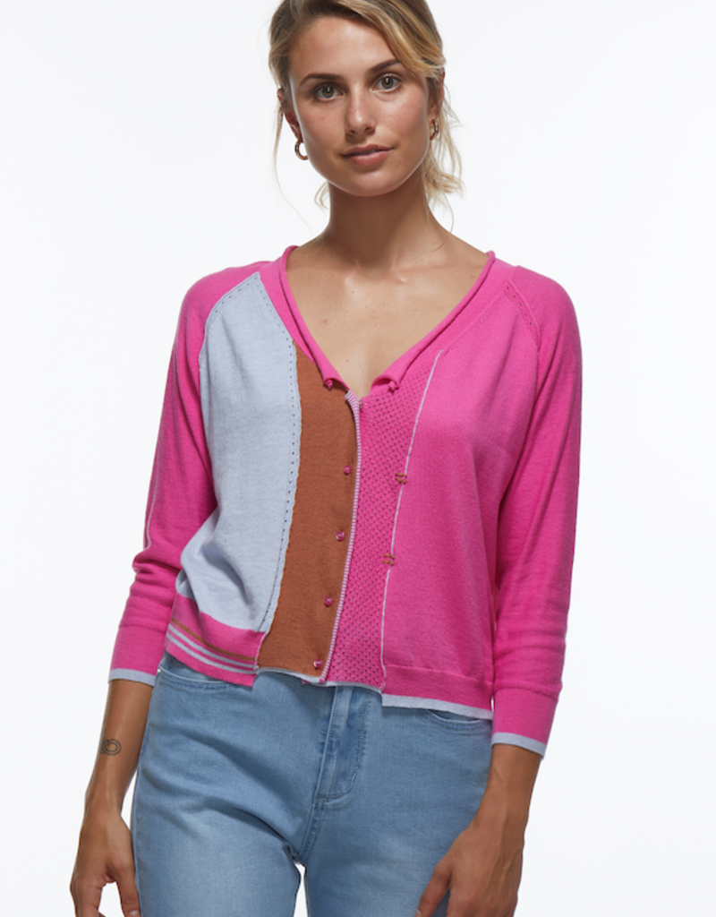 Zaket and Plover Cropped Cardigan
