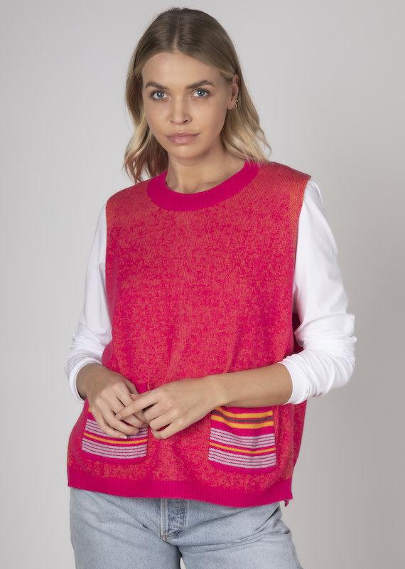 Zaket and Plover Knit Vest