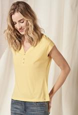 Nile V Neck Cap Sleeve Shirt