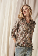 Nile Tie Bottom Blouse