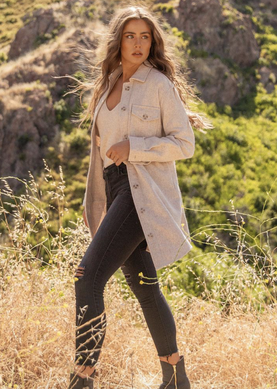 Gentle Fawn Kyleen Shirt Jacket
