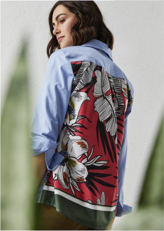 Milano Italy Print Back Shirt