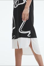 Uchuu Face Print Dress