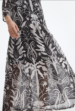 Uchuu Floral Print Long Dress