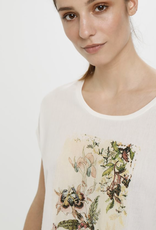 Cream Debbie T Shirt