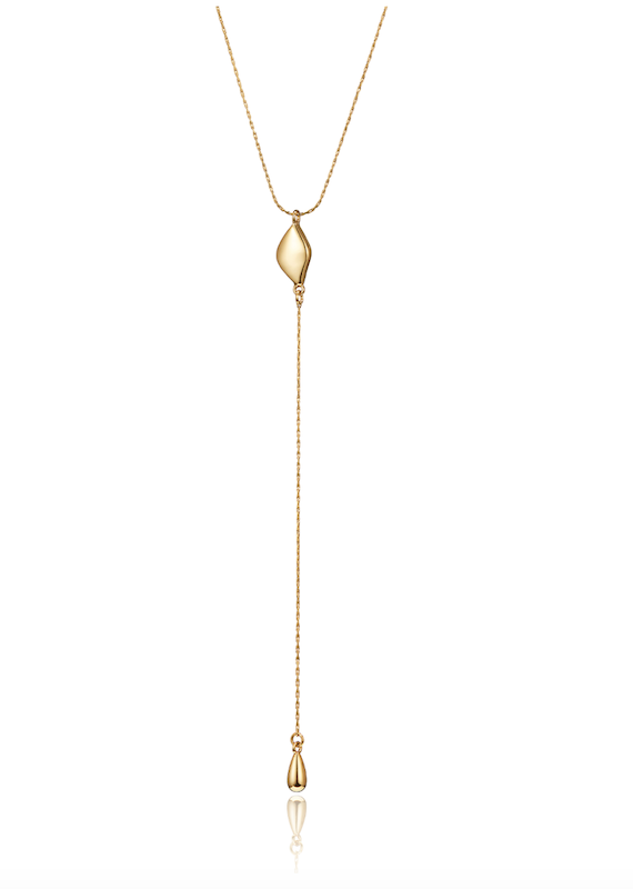 Jenny Bird Constance Lariat Necklace