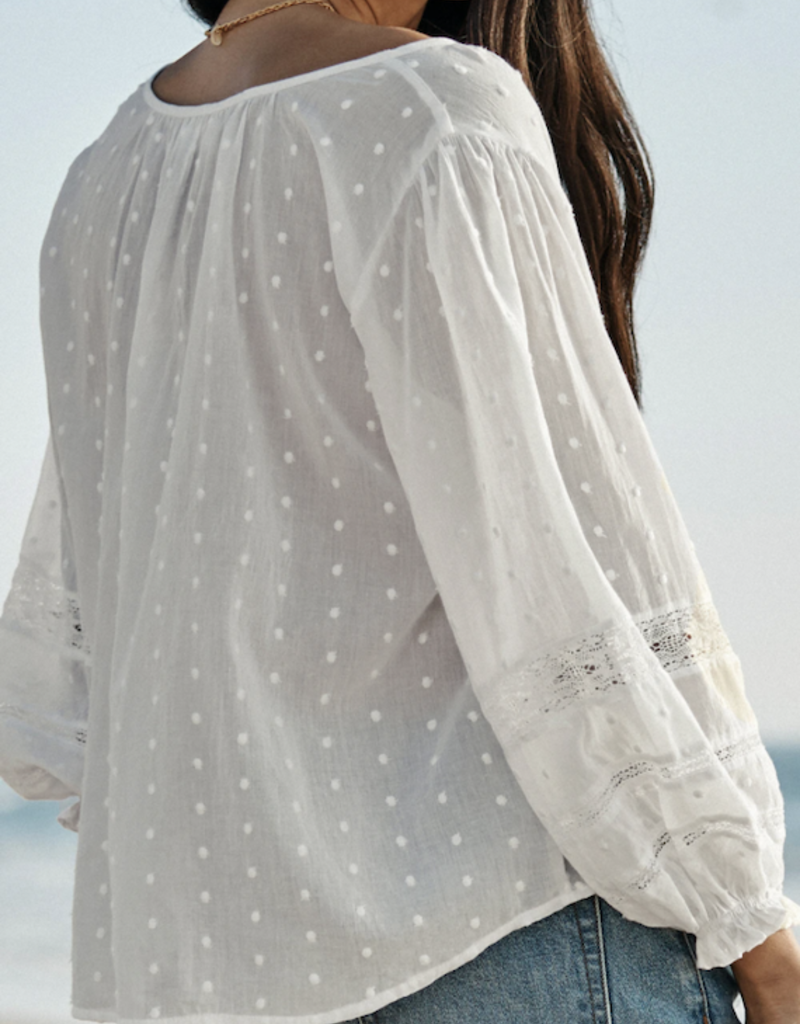 Velvet-Tees Imani Cotton Lace Top