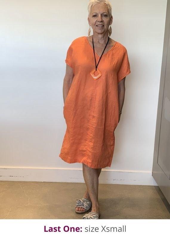 Frockk Blake Linen Dress