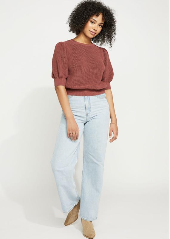 Gentle Fawn Sophia Puff Sleeve Sweater
