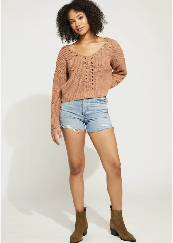 Gentle Fawn Arizona Cropped Sweater