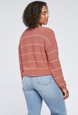 Gentle Fawn Tucker V Neck Sweater