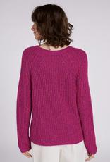 Oui Shaker Crew Neck Sweater