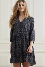Yaya Printed Midi Dress