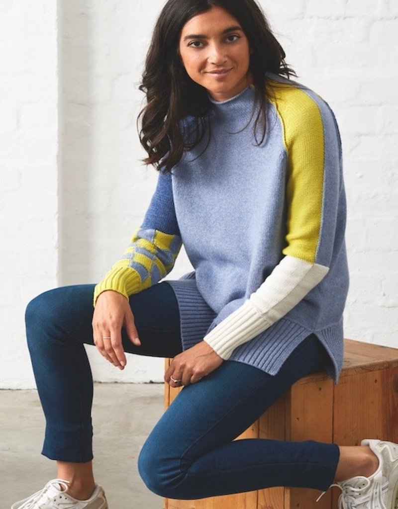 Zaket and Plover Check Detail Sweater