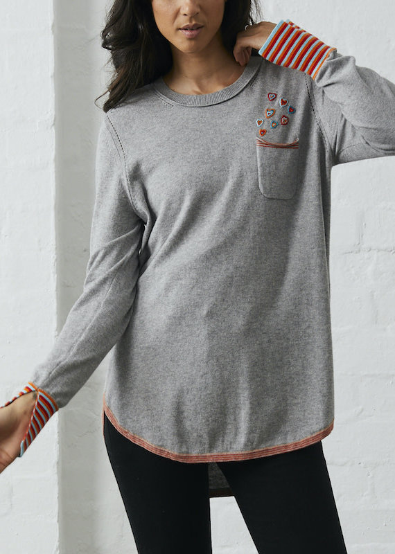 Zaket and Plover Pocket of Love Sweater