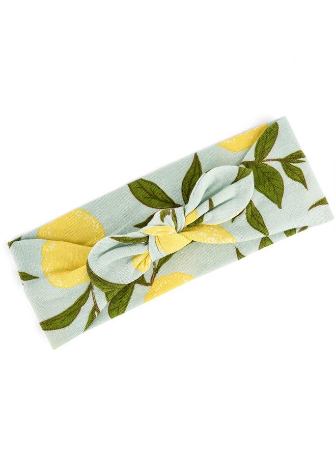 Organic Cotton Headband - Lemon
