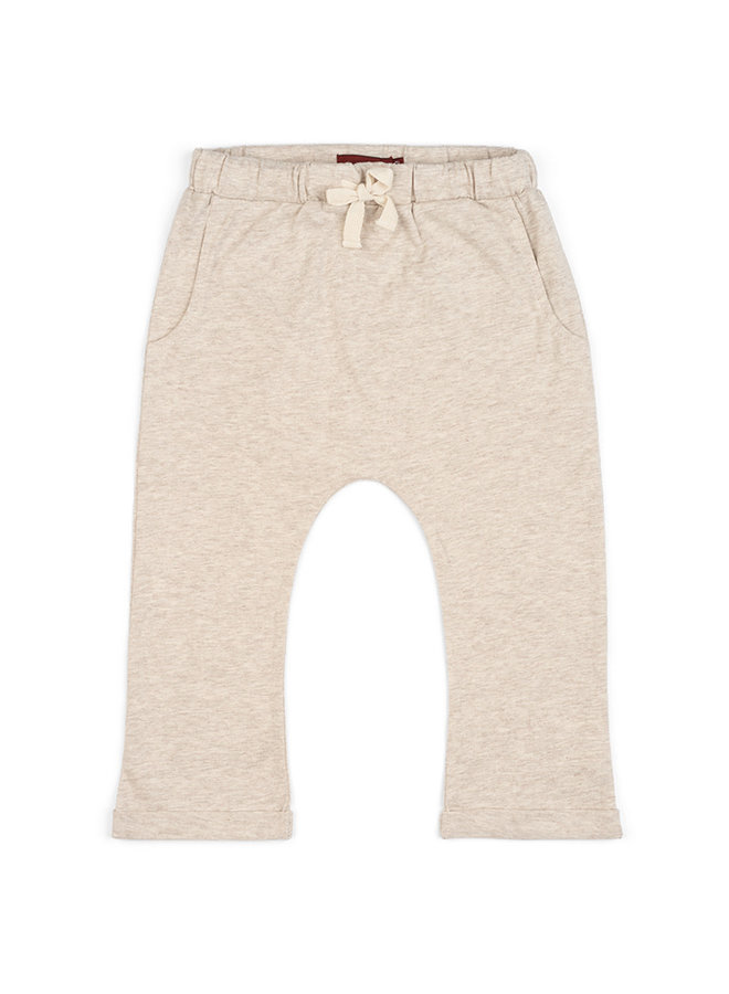Organic Cotton Jogger - Oatmeal