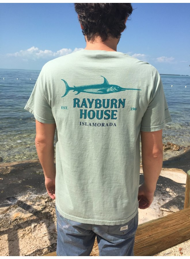 Rayburn House Men's Tee - Light Olive
