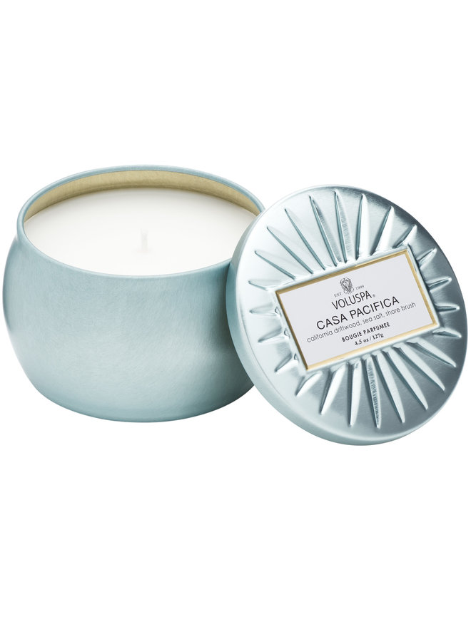 Mini Tin Candle Casa Pacifica 4.5oz