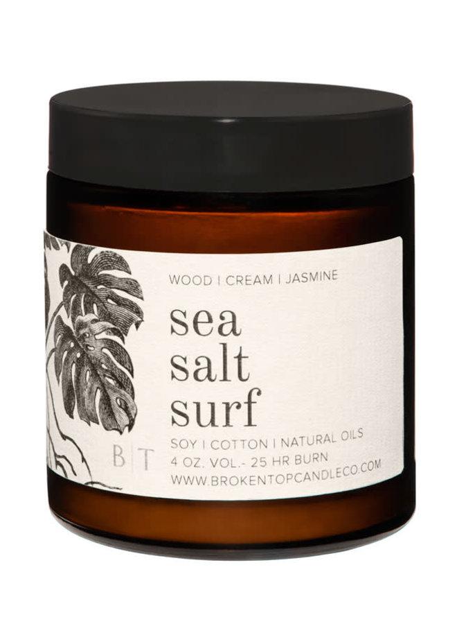 Broken Top 4 oz. Soy Travel Candle-  Sea Salt Surf