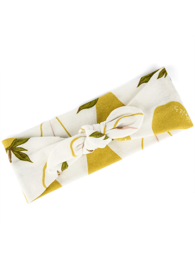 Organic Cotton Headband - Pear