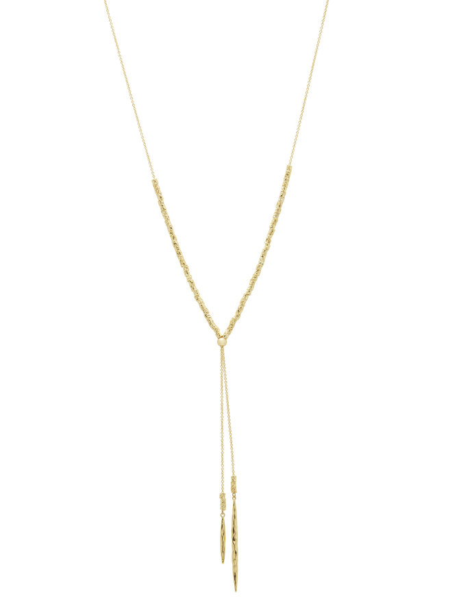 Laguna Adjustable Necklace - Gold