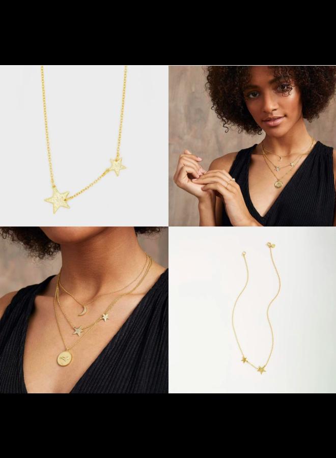 Super Star Gold Necklace - by Gorjana