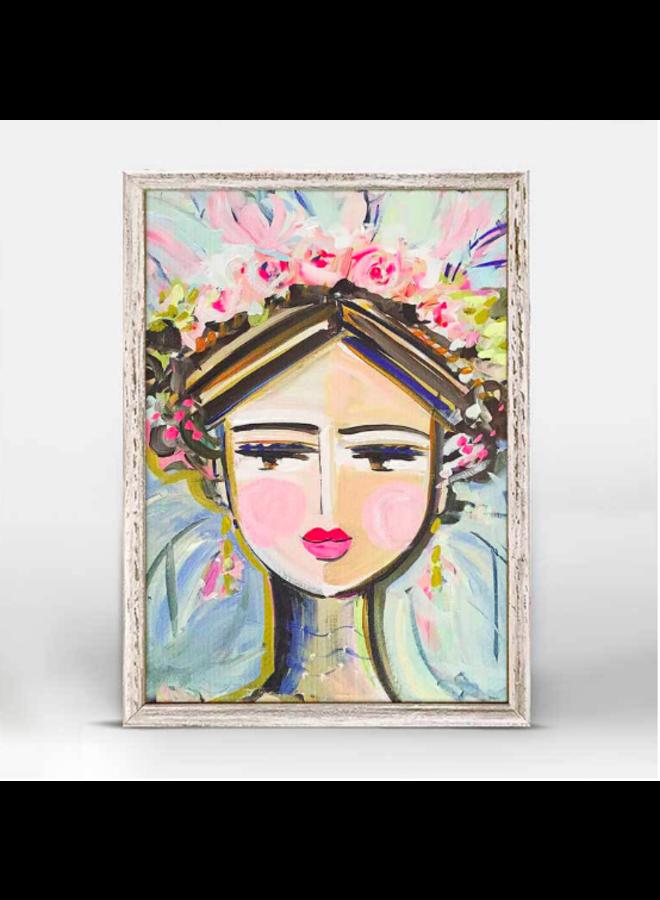 She Is Fierce - Hattie 5x7 Mini Wall Art
