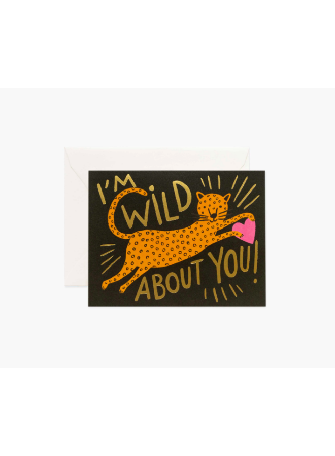 Rifle Paper Co Card - Wild About You