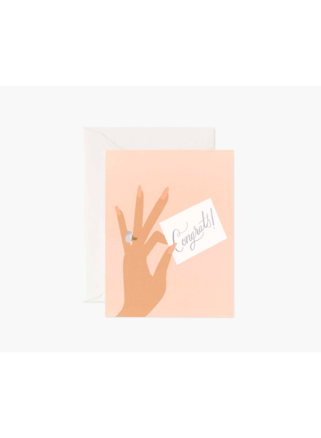 Rifle Paper Co Card - Congrats Ring
