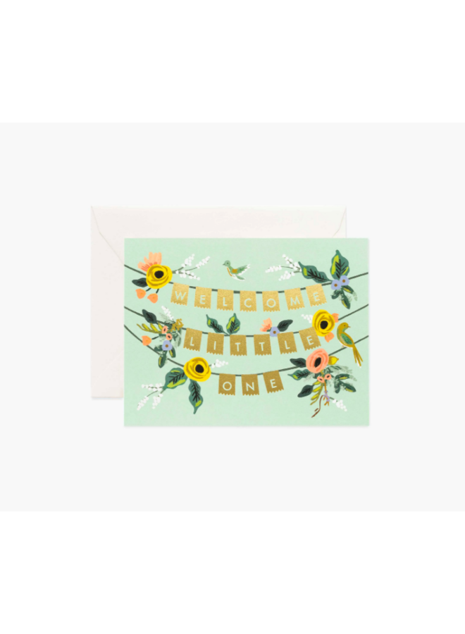 Rifle Paper Co Card - Welcome Garland