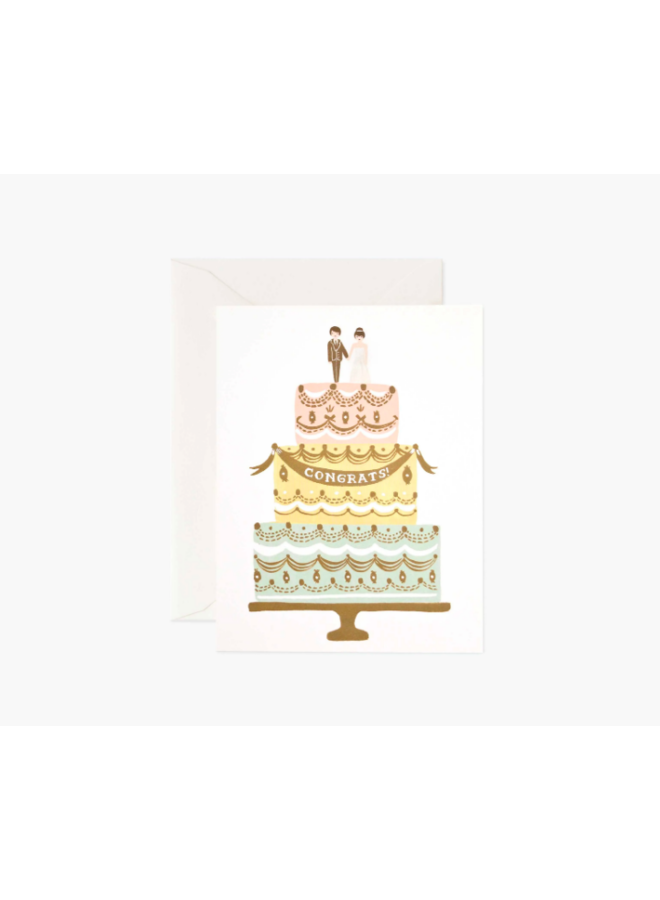 Rifle Paper Co Card - Congrats Cake